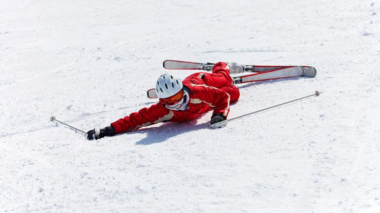 skiing tips beginner fall